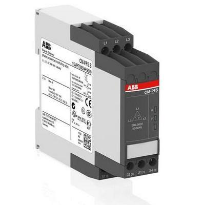 Трехфазное реле контроля напряжения ABB CM-PFS.S (контроль обрыва и чередования фаз ABB) 3x200-500В AC, 2ПК