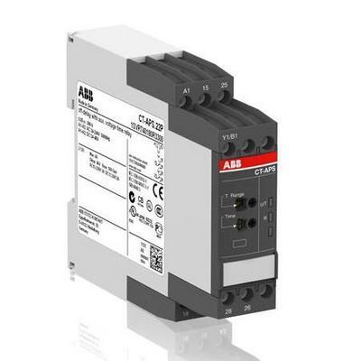 Реле времени ABB CT-APS.12S задержка на отключение 24-240B AC, 24-48B DC, 0.05с..300ч, 1ПК, винтовые клеммы