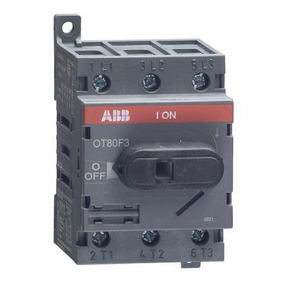 Рубильник ABB OT80F3 до 80А 3-полюсный выключатель нагрузки