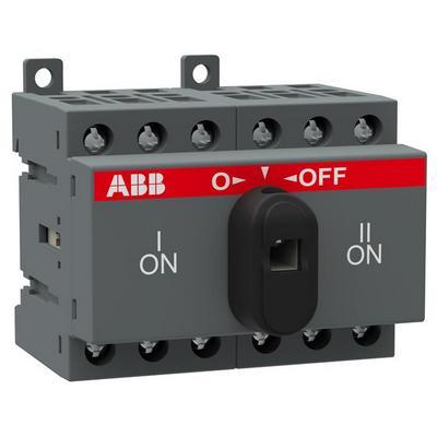 Рубильник реверсивный перекидной ABB OT16F3С до 16А 3-полюсный