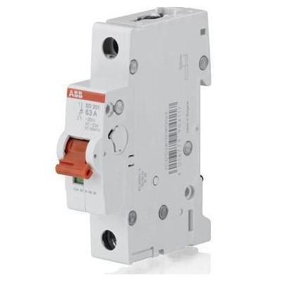 Рубильник (выключатель нагрузки) ABB SHD201/16А 1-полюсный модульный