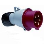 Вилка кабельная ABB 416-P6 16А 3P+N+E IP44, силовая, переносная