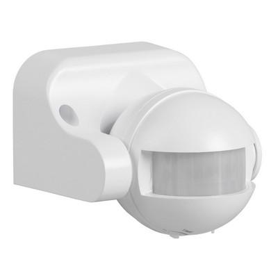 Датчик движения ИЭК ДД 009 белый, макс.  нагрузка 1100Вт, угол обзора 180град., дальность 12м, IP44