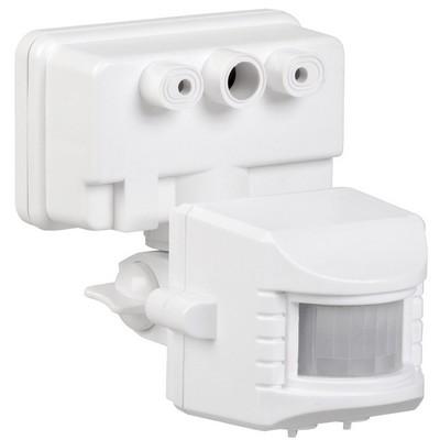 Датчик движения ИЭК ДД 019 белый, макс. нагрузка 1100Вт, угол обзора 120град., дальность 12м, IP44
