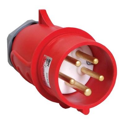 Вилка кабельная ИЭК MAGNUM ССИ-015 16А 200/346-240/415В 3Р+РЕ+N, IP44, силовая, переносная
