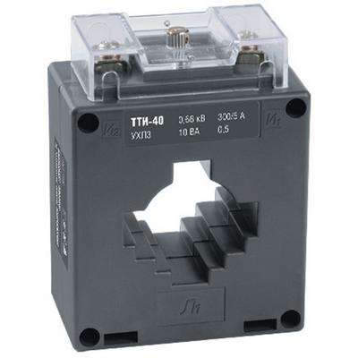 Трансформатор тока ИЭК ТТИ-40 300/5А 5ВА, класс точности 0,5