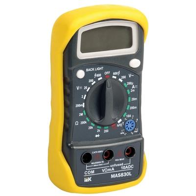 Мультиметр цифровой Master MAS830L ИЭК