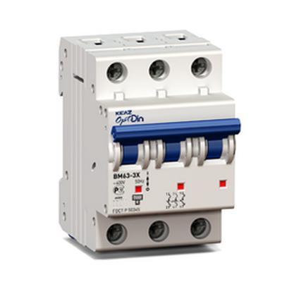 Автоматический выключатель КЭАЗ OptiDin BM63-3C1-УХЛ3