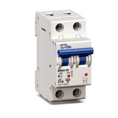 Автоматический выключатель КЭАЗ OptiDin BM63-2NC16-УХЛ3