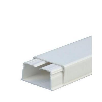 Мини-плинтус Legrand DLPlus 20x12,5 мм 1 отделение длина 2,1 м белый