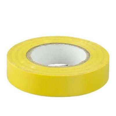 Изолента 0,13х15 мм желтая 10 метров ИЭК UIZ-13-10-10M-K05