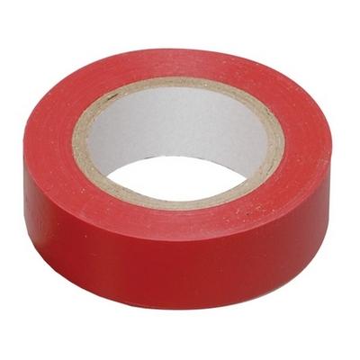 Изолента 0,13х15 мм красная 10 метров ИЭК UIZ-13-10-10M-K04