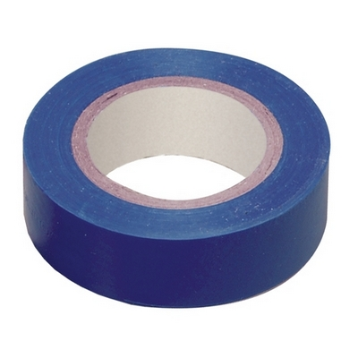 Изолента 0,13х15 мм синяя 10 метров ИЭК UIZ-13-10-10M-K07