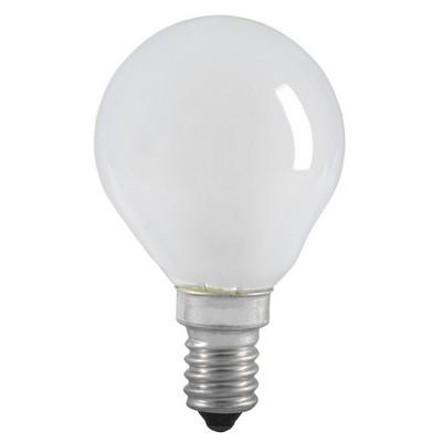Лампа накаливания G45 60Вт E14 шар матовая ИЭК