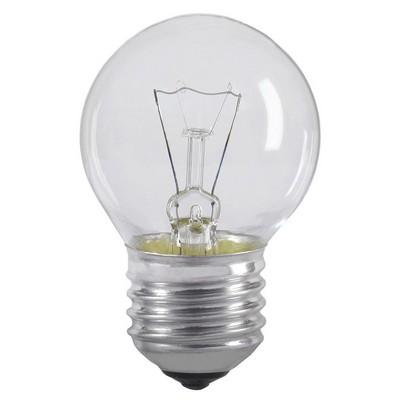 Лампа накаливания G45 60Вт E27 шар прозрачный ИЭК