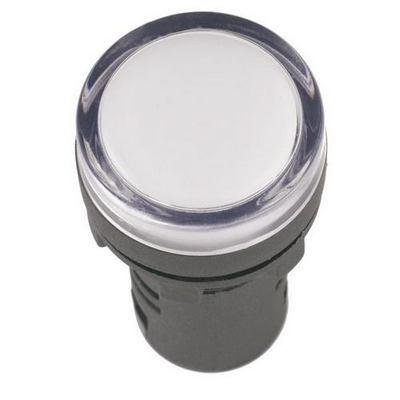 Лампа индикаторная ИЭК, AD16DS, светодиодная матрица, d16мм белый 36В AC/DC
