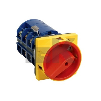 Переключатель кулачковый ИЭК, ПКП25-11 /У 25А откл-вкл 1Р/400В