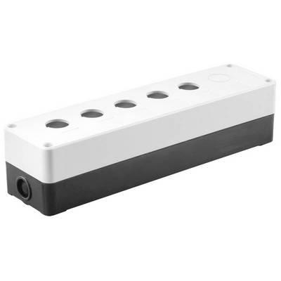 Корпус для кнопок ИЭК КП105(6) 5(6)мест белый