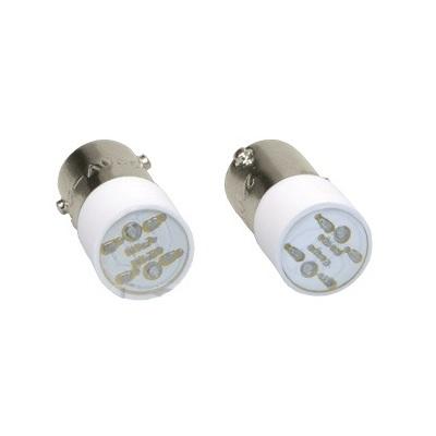 Лампа индикаторная ИЭК, сменная желтая матрица/12В