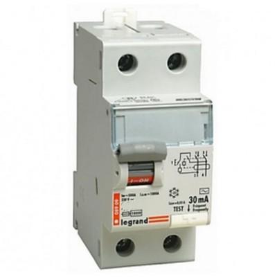 Дифференциальный автомат DX 1П+Н C20А 2-полюса 30MA-AC LEGRAND 007887