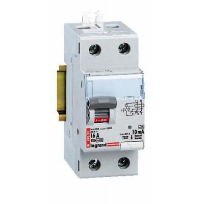 Выключатель дифференциального тока УЗО DX LEGRAND 2-полюса 40А 30мА-AC 008910