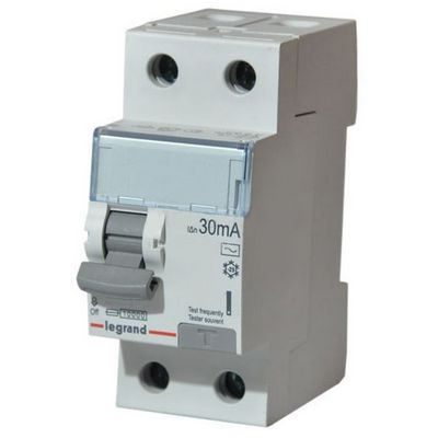 Выключатель дифференциального тока УЗО TX3 2-полюса 25A 30ma -AC LEGRAND