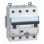 Дифференциальный автомат АВДТ DX3 4П C10А 4-полюса 30MA-AC LEGRAND