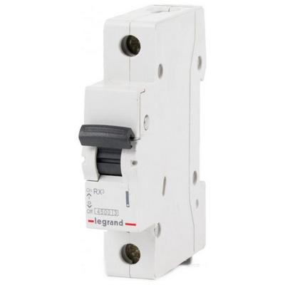Автоматический выключатель Legrand RX3 10а 4,5кА 1-полюсный характеристика C