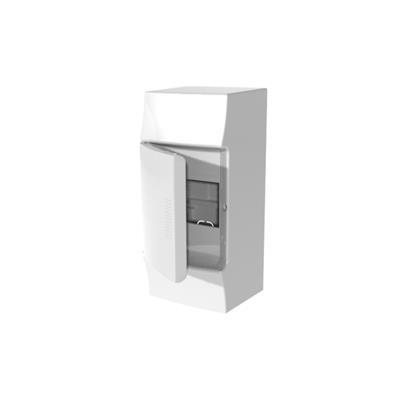 Бокс навесной ABB Mistral41, 4-модуля, пластиковый, непрозрачная дверь, без клемм