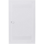 Дверь BL530L белая с вентиляционными отверстиями для щита ABB UZM530MV