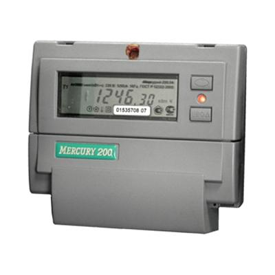 Счетчик электроэнергии Меркурий 200.02 5(60) ЖКИ однофазный многотарифный прямого включения