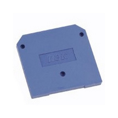 Заглушка для зажима клеммного ЗНИ4-6мм2, (JXB35-50А)синий ИЭК