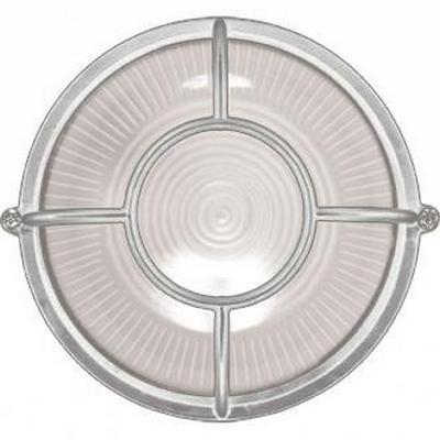 Светильник ИЭК ЖКХ НПП1304, белый, круг солнце, 60Вт IP54