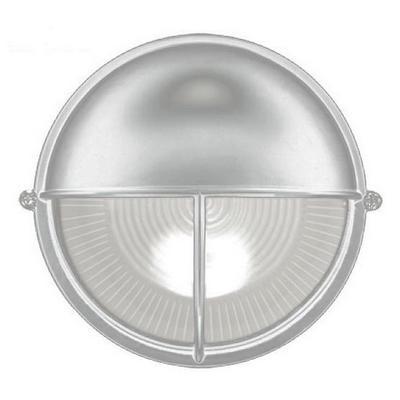 Светильник ИЭК ЖКХ НПП1105, белый, круг полусфера-луч, 100Вт IP54