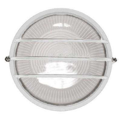 Светильник ИЭК ЖКХ НПП1306, белый, круг сетка, 60Вт IP54