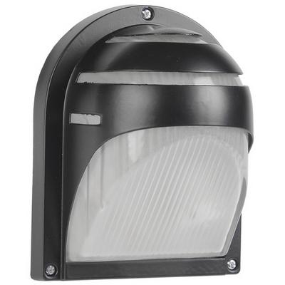 Светильник ИЭК ЖКХ НПП2501, черный, ресничка, 60Вт IP54