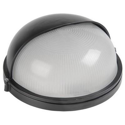 Светильник ИЭК ЖКХ НПП1103, черный, круг полусфера, 100Вт IP54
