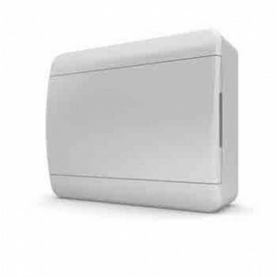 Щит навесной Tekfor 8 модулей IP41, непрозрачная белая дверца серии В