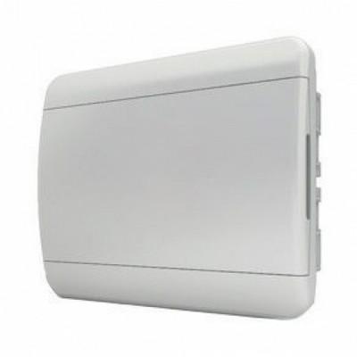 Щит встраиваемый Tekfor 8 модулей IP41, непрозрачная белая дверца серии В