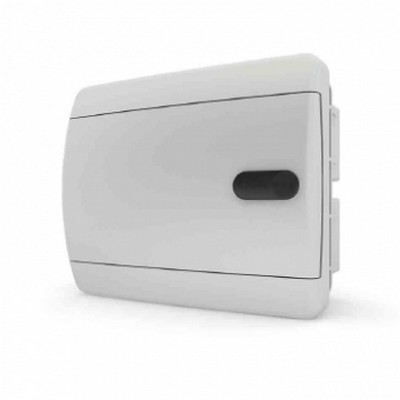 Щит встраиваемый Tekfor 6 модулей IP41, непрозрачная белая дверца серии С