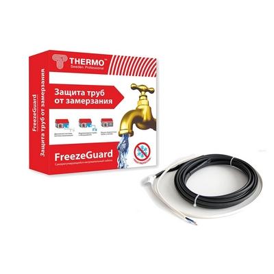 Саморегулирующийся кабель THERMO FreezeGuard для обогрева труб 1м, 15 Вт/м