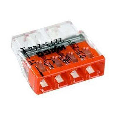 Клемма соединительная WAGO 2273-244 для распределительных коробок