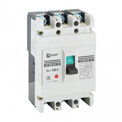 Автоматический выключатель EKF Basic ВА-99М 100/100А 3-полюсный, 20кА