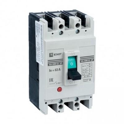 Автоматический выключатель EKF Basic ВА-99М  63/16А 3-полюсный, 20кА