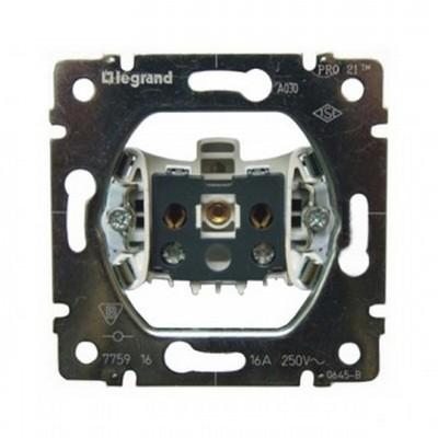 Розетка электрическая Legrand Galea Life, без заземления, 16A 250В (без лицевой панели)