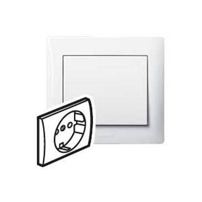 Лицевая панель Legrand Galea Life для розетки 2К+З, белый