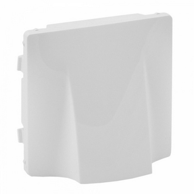 Лицевая панель Legrand Valena LIFE для вывода кабеля, Белая