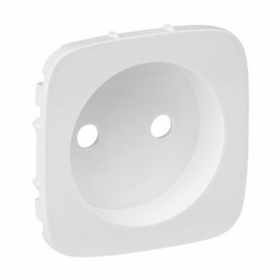 Лицевая панель Legrand Valena ALLURE, силовой розетки 2К, Белая