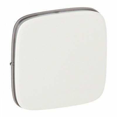 Лицевая панель Legrand Valena ALLURE, для выключателей одноклавишных, Белая