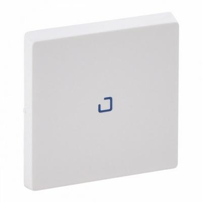 Лицевая панель Legrand Valena LIFE для выключателя одноклавишного с подсветкой/индикацией , Белая